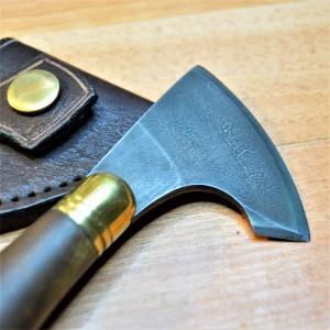 """Нож шорный """"Секирка малая"""" для раскроя и шерфования кожи"""