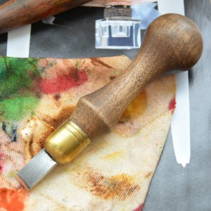 Граверный нож для резьбы по коже НА8