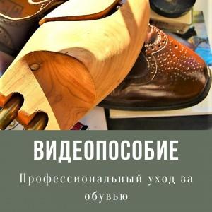 ВидеоКурс Профессиональный уход за обувью. Полезные советы и пошаговые инструкции