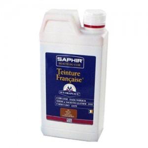 Краска для кожи проникающая, профессиональная Saphir Teinture francaice 1000 мл арт 0816