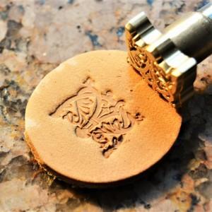 Штамп для тиснения по коже VOKASI арт А12