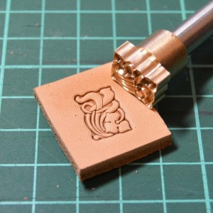 Штамп для тиснения по коже VOKASI арт А24