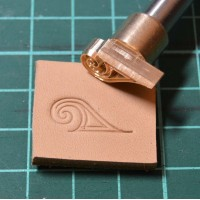Штамп для тиснения по коже VOKASI арт А25
