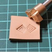 Штамп для тиснения по коже VOKASI арт А30