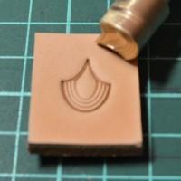 Штамп для тиснения по коже VOKASI арт А29