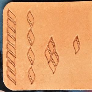 Штамп для тиснения по коже арт NSK12R