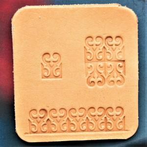 Штамп для тиснения по коже арт NSK16