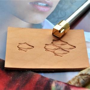 Штамп для тиснения по коже арт NSK423