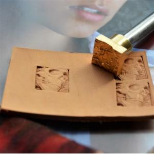 Штамп для тиснения по коже арт NSK51-4