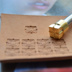 Штамп для тиснения по коже арт NSK124