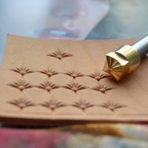 Штамп для тиснения по коже арт NSK296