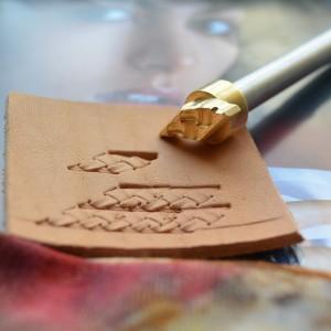 Штамп для тиснения по коже арт NSK463