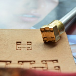 Штамп для тиснения по коже арт NSK80