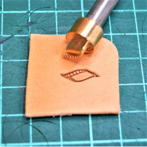 Штамп для тиснения по коже VOKASI арт NSK12R