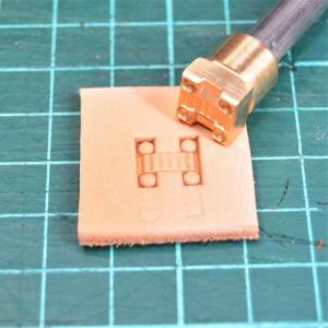 Штамп для тиснения по коже VOKASI арт NSK80