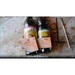 Уроки покраски кожи. Сравнение действия водной и спиртовой морилки на коже растительного дубления