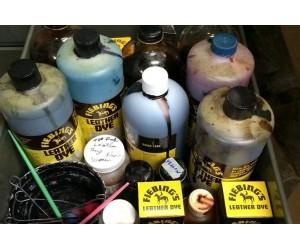 Проникающие водные краски для кожи растительного дубления