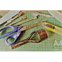 0.080 Инструменты для кожи. Раскройные ножи и вырубщики.