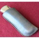 Кожаные ножны под BUCK 110 вертикальный подвес цвет антик дарк MS4-1