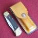 Кожаные ножны под BUCK110 вертикальный подвес цвет антик тан MS5-1