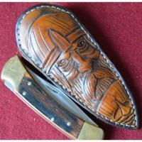 Чехол - ножны подарочный для коллекционных ножей MSA7