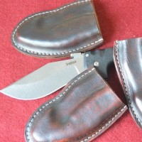 Ножны из кожи под заказ для ножей Cold Steel MS12