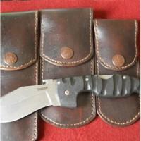 Кожаные чехлы на заказ для складного ножа вертикальный подвес MS14