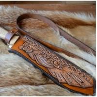 Фентези стиль классик образец ножен ручной работы на заказ MSA2