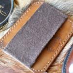 Салфетка профессиональная двойная полировка - глассаж кожа, мех, фетр