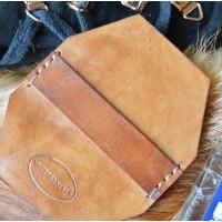 Салфетка профессиональная для чистки обуви из особочувствительной замши и нубука кожа, толстый фетр