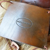 Зашита обуви водителя (автопятка) для классической мужской обуви из особочувствительной кожи, горький шоколад, кожа, фетр