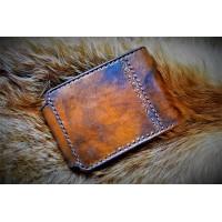 638bf0b99e44 Кошельки мужские ручной работы из 100% натуральной кожи купить или ...