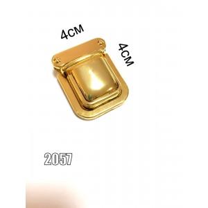 Замок для сумки, портфеля арт.2057 золото