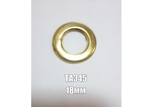 Люверс декоративный арт.ТА345 кольцо золото С
