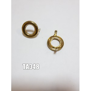 Люверс декоративный арт.ТА348 кольцо золото С