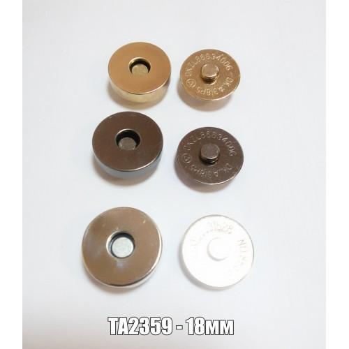 Магнит арт.ТА2359 чёрный никель