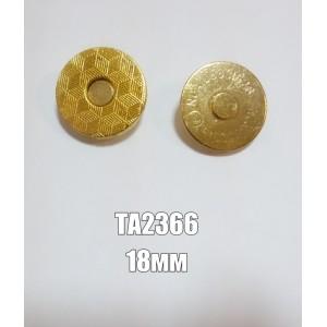 Магнит арт.ТА2366 18мм. золото