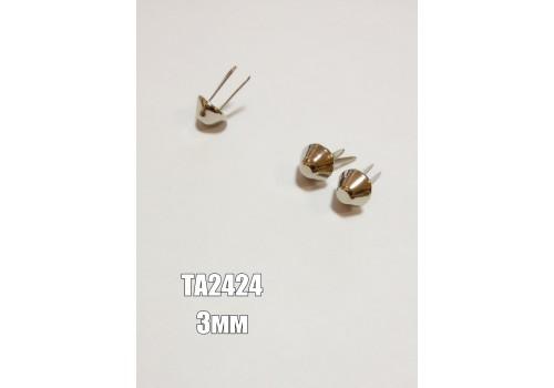 Пукля арт.ТА2424 3мм никель