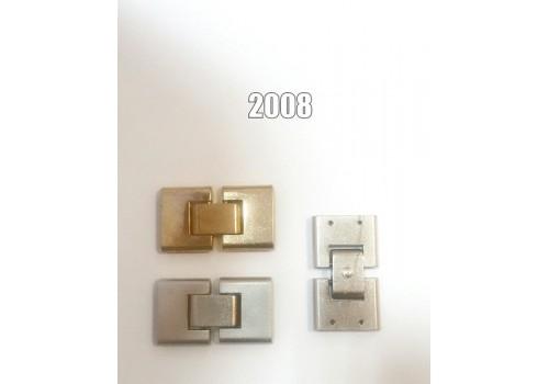 Ручкодержатель для сумки арт. 2008 плоск.-никель