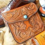 Стиль Любителя Чистой Обуви набор косметики в кожаной сумке ручной работы