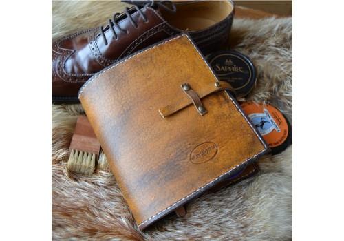 Стиль Любителя Чистой Обуви набор косметики в кожаном чехле ручной работы