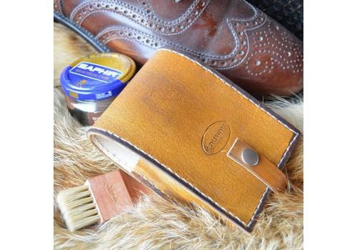 Стиль Любителя Чистой Обуви чехол ручной работы под обувную косметику Saphir