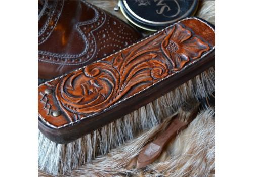 Стиль Любителя Чистой Обуви щётка для обуви подарочная ручной работы