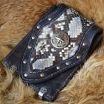 Байк классик стиль сумка ручной работы под мотодокументы, паспорт, айфон
