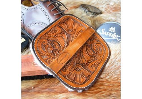 Стиль Любителя Чистой Обуви. Салфетка для полировки обуви ручной работы