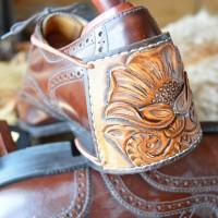 Стиль Любителя Чистой Обуви. Защита пятки для водителя ручной работы