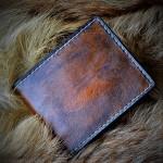 Кошелек кожаный ручной работы Проект Вспомни Кожу