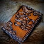 Ренессанс стиль образец именного портмоне ручной работы