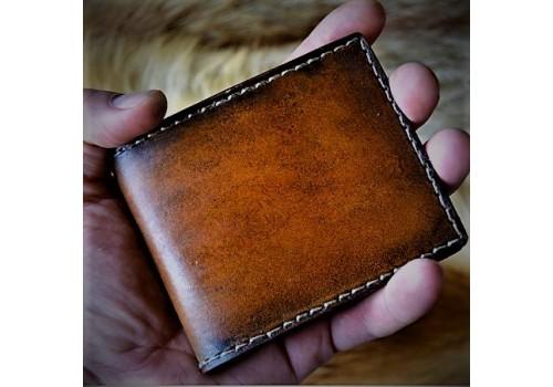 """Проект """"Вспомни кожу"""" Купюрница ручной работы из 100% натуральной кожи"""